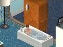 Screenshot from The Sims, EA