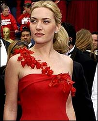 Kate Winslet at the 2002 Oscars