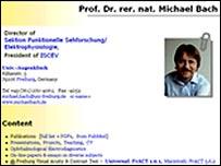 Michael Bach website