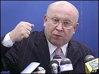 Moscow bid leader Valery Shantsev