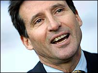 London bid leader Sebastian Coe
