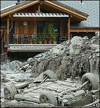Brienz damage