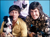 John Noakes and Peter Purves