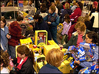 US store in run-up to Christmas