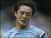 Manchester City utility player Sun Jihai
