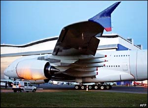 Prototype of the Airbus A380