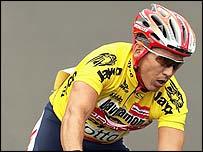 Australian cyclist Robbie McEwen