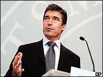 Danish PM Anders Fogh Rasmussen