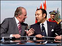 King Juan Carlos and King Mohammed VI