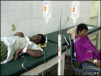 Victims of rebel attack in Andhra Pradesh