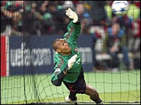 AC Milan goalkeeper Dida
