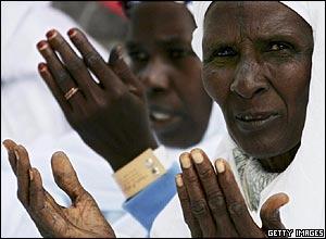 African pilgrims on the Hajj