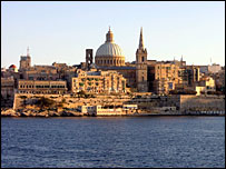 View of La Valetta