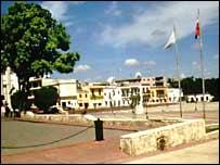 Columbus Square in Santo Domingo, Dominican Republic