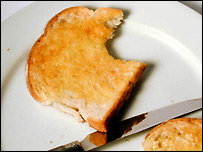 A piece of toast