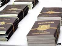 Fake passports seized in Thailand