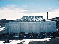 Nimrod hut (Image by F Wills)