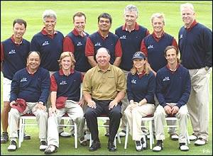 The American team