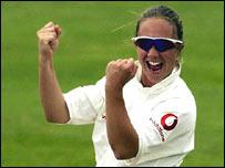 England skipper Clare Connor