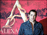 Alexander star Colin Farrell