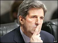 Former presidential candidate Senator John Kerry