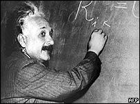 Undated file photograph of Albert Einstein