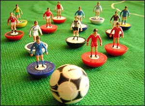 Selection of Subbuteo figures from the 1980s