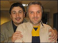 Эдвард Мурзин (слева) и Эдвард Мишин