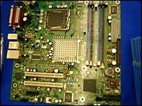 Intel lead free motherboard