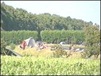 Ravers' camp