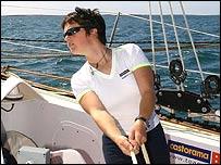 MacArthur trims B&Qs sails