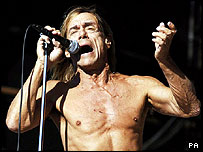 Iggy Pop fronts Iggy and the Stooges