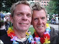 Miles Harding (left) and Mike Dunn