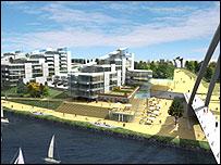 North Shore development in Stockton