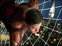 Still from Spider-Man 2