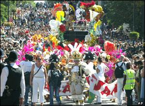 Street scene from carnival