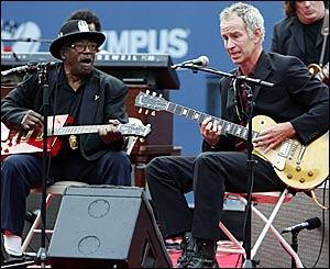 Bo Diddley and John McEnroe