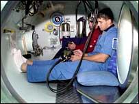 An oxygen chamber