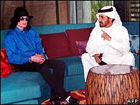 Michael Jackson in Dubai with Mohammed Bin Sulayem