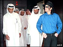 Michael Jackson in Dubai