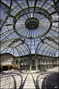 Dome of the Grand Palais in Paris.