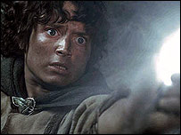 Elijah Wood in The Lord of the Rings: The Return of the King