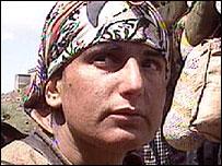 Kurdish mother