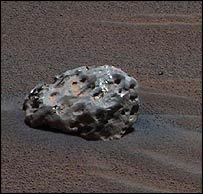 Iron-nickel meteorite, Nasa