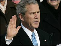 La juramentación de Bush