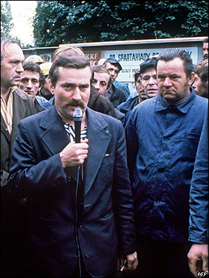 Лех Валенса, 1980 год