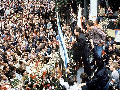 Ворота гданьской верфи, 1980