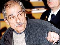 Adolfo Scilingo in court
