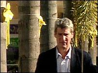 Jeremy Paxman in San Diego