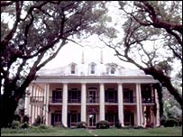 House on plantation in southern US